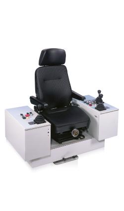 Поворотный крановый пульт управления (кресло-пульт) KST5 W. GESSMANN GMBH