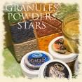 Powder - металлизированный порошок для добавления в лаки, воски, лазури.