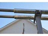 Фото  2 Теплоизоляционные скорлупы из пенополиуретана с фольгопергамином, D208мм, толщина 40мм. 409959