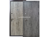 Фото 1 Двері вхідні металеві, вже готові зі складу, Преміум-3. 343746
