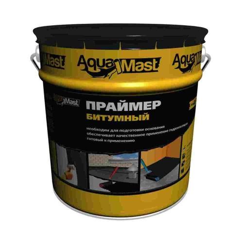 Праймер битумный AquaMast, 8 кг/10 л.