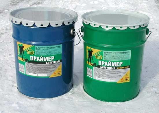 Праймер битумный КРЗ. (20л-17,5кг) Используется для обработки и грунтовки поверхностей для монтажа еврорубероида