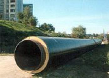 предизолированные трубы, трубы 32/90 для подземной прокладки теплосетей в полиэтиленовой ПЕ оболочке