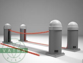 Предлагаем купить цепной автоматический барьер СAT для контроля въезда на частные стоянки и резервирования мест.