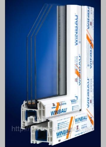 Предлагаем Вам высококачественные металлопластиковые изделия профильной системы WINBAU! WINBAU 4К (4 камеры) – Германия