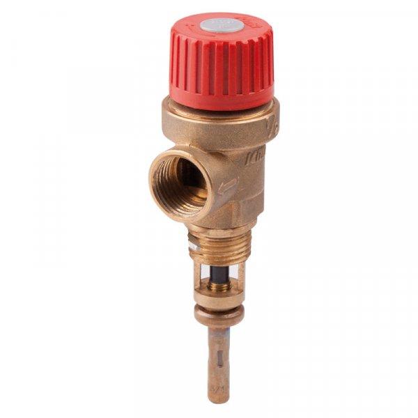 Фото  1 предохранит. клапан температуры и давления 1/2  3 бара Icma №266 2012873