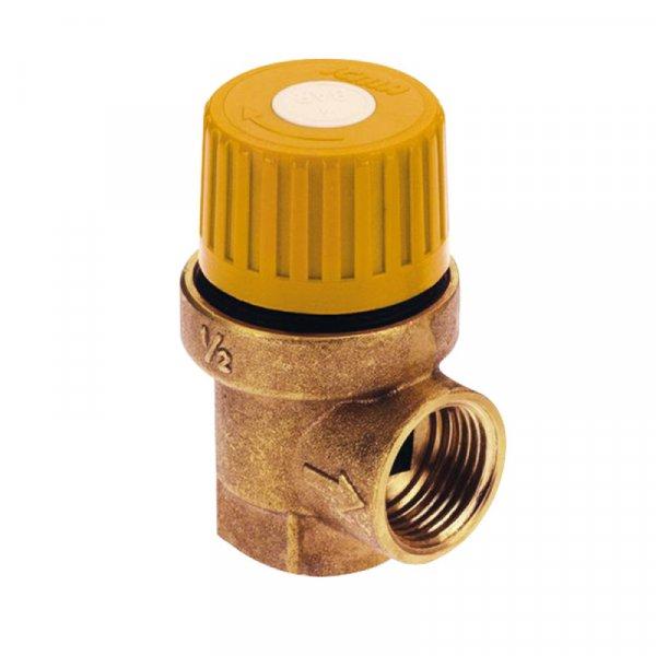 Фото  1 Предохранит.клапан для гелиосистемы 1/2 вв (6 бар) Icma №S120 2013381