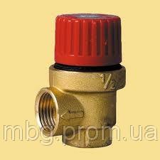 "Предохранительный клапан, ICMA 1/2"" 3.5 бар"