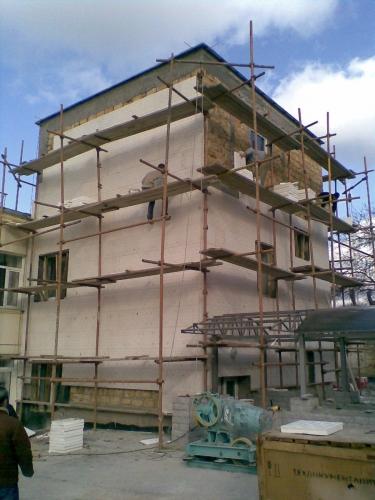 Предоставляем строительные бригады для отделки фасада плитками Полифасад!