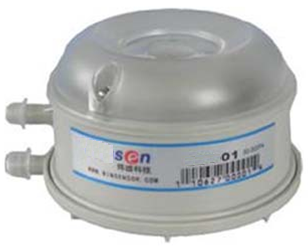 Датчик перепада давления воздуха SPV. Диапазон 20-200Па,50-500Па. Релейный выход