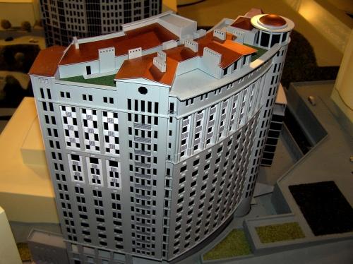 Презентационный макет многофункционального комплекса по ул. Первомайского