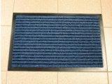 Фото  1 Придверный грязезащитный коврик на резиновой основе с окантовкой Condor Entree 40х60, Синий 2134427