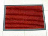 Фото  1 Придверный грязезащитный коврик на резиновой основе с окантовкой Condor Entree 90х150, Красный 2134430