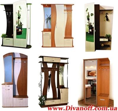 Прихожые. Мебельная фабрика Декс. www. divanoff. com. ua