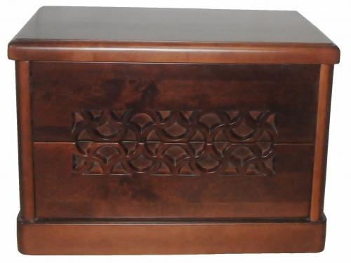 Прикроватная тумбочка из массива ольхи Версаль