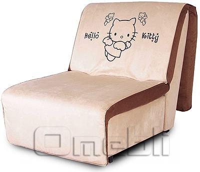 Принт Аккордеон кресло Ткань Монтана ванилла A32119
