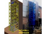 Фото  1 Наружный приставной подъёмник промышленный г/п 500 кг. МОНТАЖ. г. Ужгород 2145902