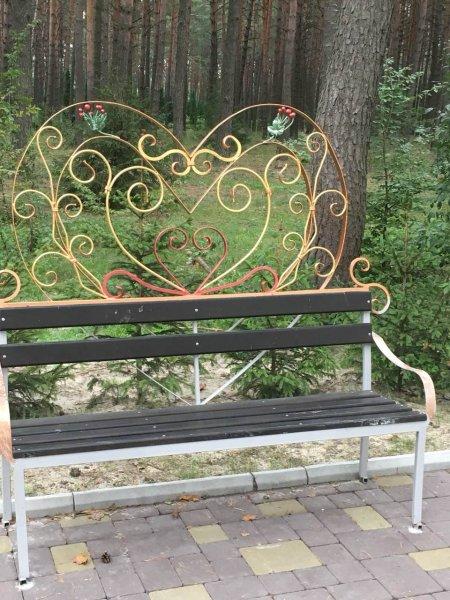 Фото 5 Скамейка кованая на кладбище . Лавочка на дачу. 336331