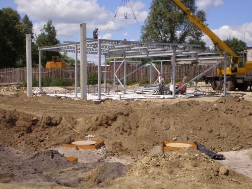 Прмислове будівництво (ангари, склади, виробничі приміщення)