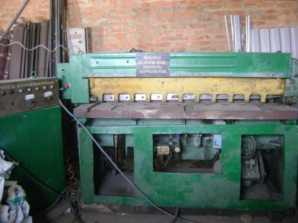 Продам гильотина кривошипная НД 3314 , в хорошем и рабочем состоянии. детали :http://ask-met. com. ua/