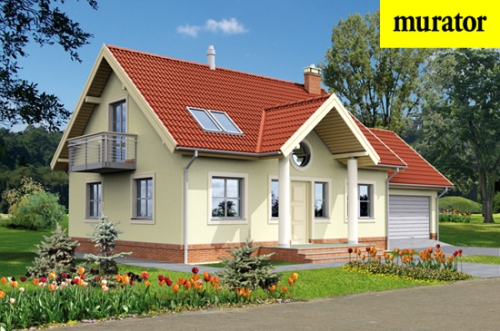 Проект дома - Интересный - вариант II (энергосберегающий) - Муратор ЭЦ118б