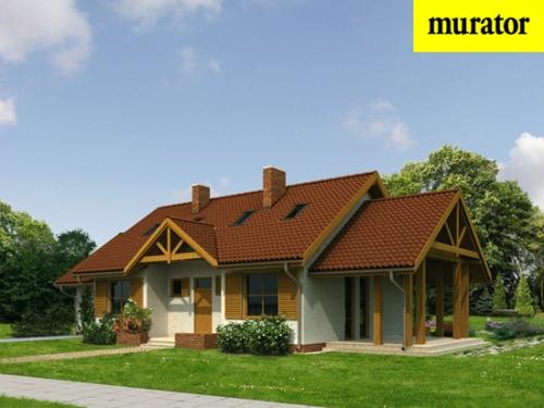 Проект дома - Мое место - вариант I - Муратор М03а