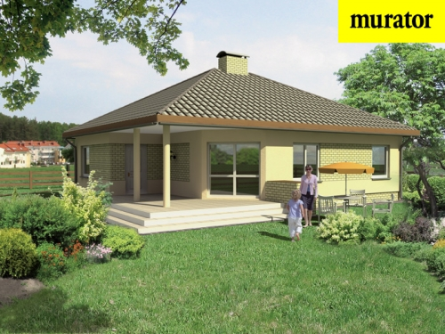 Проект дома - Отпускной - Муратор ДЛ07