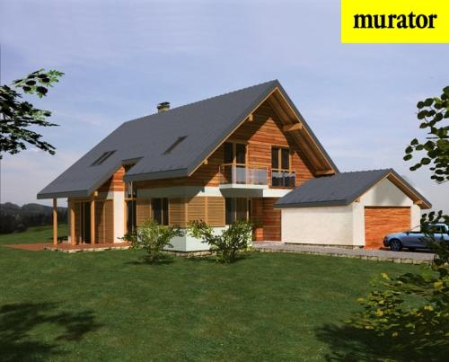 Проект дома - Современный - Муратор Ц188