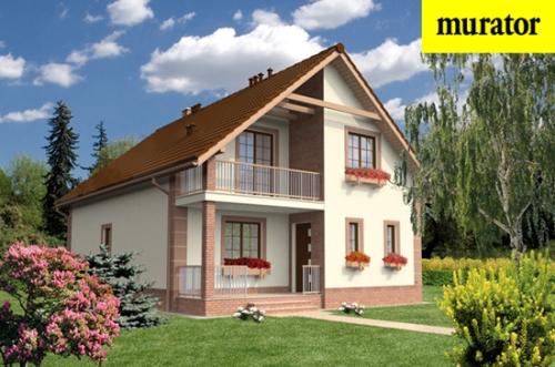 Проект дома - Укромный - вариант III - Муратор Ц32ц