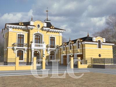 Проект Milagro площадью 705 кв. м. Классическая городская резиденция.