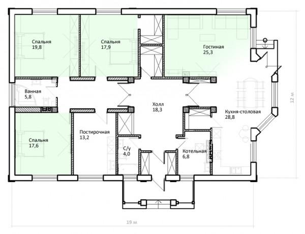 Проект перепланировки, эскизный проект (разработка архитектурных решений)