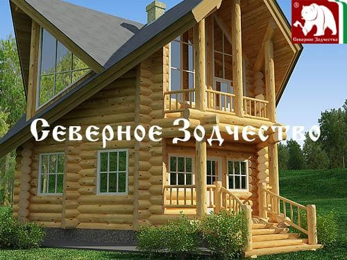 Проект сруба 3-146. Дом по проекту №3-146 (S=130 кв. м, диаметр бревна 22-24 см, высота потолков 2,8 м) ручной рубки.
