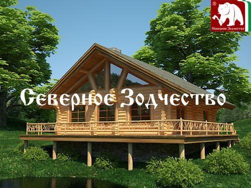 Проект сруба 3-79. Дом по проекту №3-79 (S=200кв. м, диаметр бревна 22-24 см, высота потолков 2,8 м) ручной рубки.
