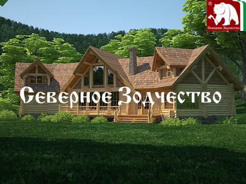 Проект сруба 3-89. Дом по проекту №3-89 (S=500 кв. м, диаметр бревна 22-24 см, высота потолков 2,8 м) ручной рубки.