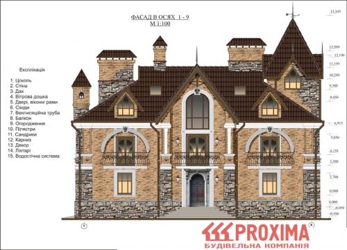 Проект строительства дома Киев