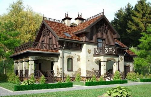 Проекты домов и коттеджей в Виннице