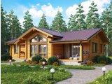 Фото  1 Проекты домов из бруса 2355718
