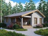 Фото  1 Проекты домов из дерева 2355908