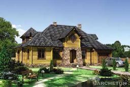 Проекты из деревянного бруса