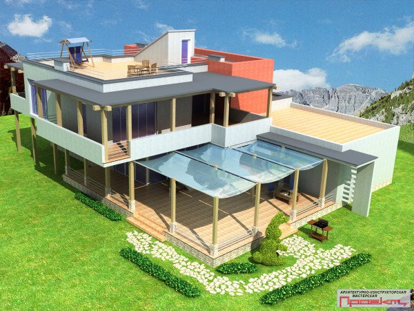 Проектирование частных домов, котеджей, хоз. построек, гаражей, наружные и внутренние сети(ВК, ОВ, ЭО).