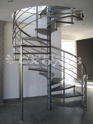 Проектирование, дизайн, изготовление, установка винтовых, маршевых, бетонных, каркасных, больцевых, комбинированных лестниц