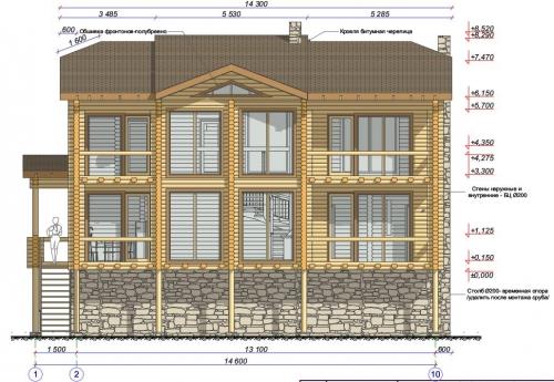 Проектирование домов, коттеджей, бань, ресторанов, гостиниц. Адаптация любого проекта под проект деревянного дома.