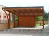 Проектирование и изготовление деревянных навесов
