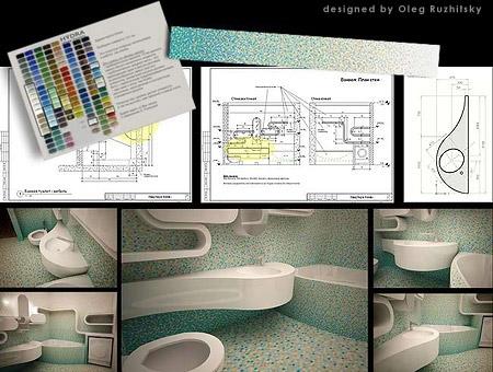 Проектирование интерьера городской квартиры и загородного дома