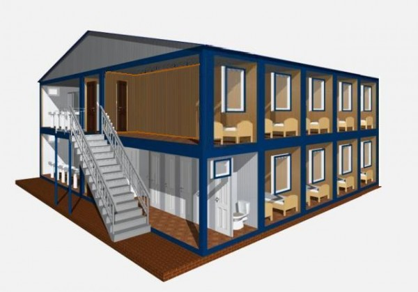 Проектирование, изготовление, монтаж общежитий гостиниц.