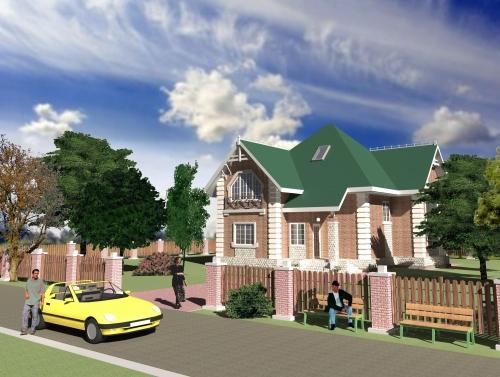 Проектирование коттеджей, домов