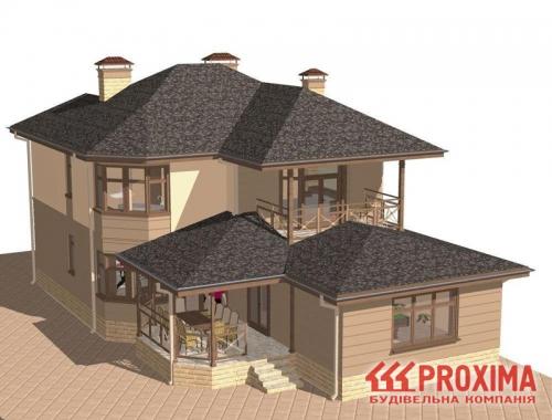 Проектирование загородного дома Киев