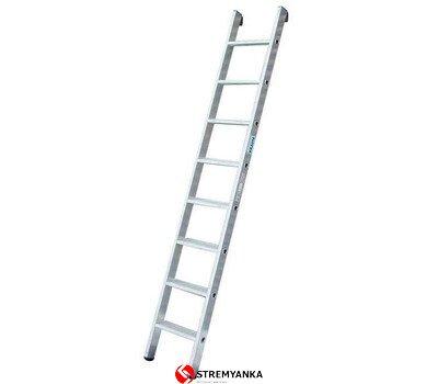 Фото  1 Профессиональная односекционная лестница со ступенями STABILO KRAUSE 8 ступеней 2234200