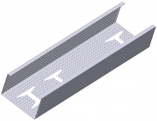 Профиль CW. Сталь оцинкованная толщиной 0,55 мм