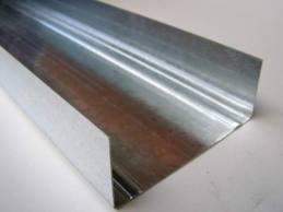 Профиль для гипсокартонных систем UW 100 толщина стали 0,40 мм